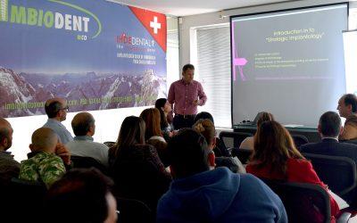 Sesión del Masterclass de la International Implant Foundation Julio, 2018
